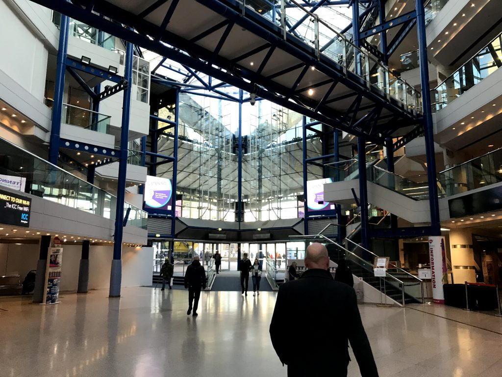 Pictured: AVM worked with the NEC group to install video technology in Birmingham, UK